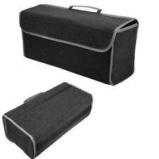 Car SUV Organizer Boot Box Trunk Storage Bag Folding Tool Case Grey Felt 49x24cm