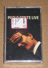 PAOLO CONTE - LIVE - MUSICASSETTA MC SIGILLATA (SEALED)