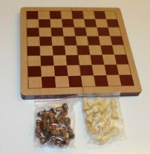 Folding Large Chess Wooden Set Chessboard