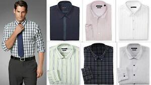 Mens Shirt Van Heusen Slim Fit Cotton Rich Easycare Long Sleeve