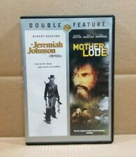 Jeremiah Johnson/Mother Lode (DVD, 2012, Double Feature) Robert Redford