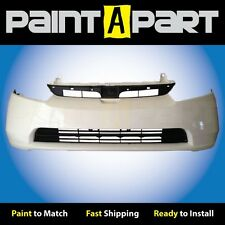 2006 2007 2008 Honda Civic Sedan Front Bumper Painted NH578M Taffeta White