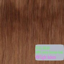"""BEST Selling Clip In Remy Human Hair Extensions Full Head 18"""" 20""""22"""" Blonde P834"""