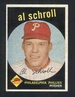 1959 Topps #546 Al Schroll EXMT/EXMT+ Phillies 126350