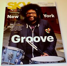 Delta Airlines Sky Magazine January 2018, NYC Questlove w/The Roots/Tonight Show