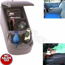 BENCH SEAT CONSOLE ARMREST Center Front Organizer Rear Car Cup Holder Truck SUV