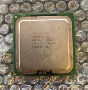 💎Intel Pentium D 820 / 2.8Ghz / 2Mo / 800Mhz / Socket LGA775 / SL88T CPU MALAY