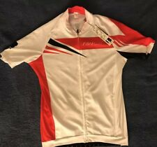 Biemme Cycling Jersey Full Zip SS, Black / Red, Mens Size Large NWT