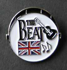 BRITISH THE BEAT 60s GROUP DRUM BEATLES LAPEL PIN BADGE 1 INCH