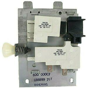 Amana Radarange Left Light Switch Microwave Oven RR-720 Tricon Interlock Door