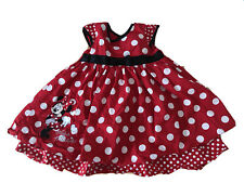 ❤️🤍❤️Red And White Pretty Girls Disney Baby Miss Minnie Mouse 9-12 Month 👧🏻❤️
