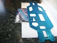 Fastrax fttc69 Lightweight Milled Aluminium Chassis Blue 1pc