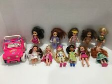 Barbie Kelly Sister Friend Doll Lot Clothes Jeep