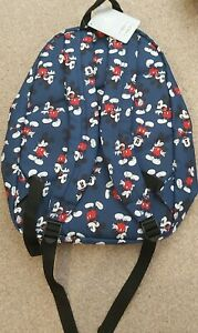 Disney Store Blue Mickey Mouse Backpack/Rucksack/BNWT