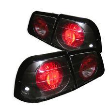 Fit Nissan 97-99 Maxima Black Euro Style Rear Tail Lights Brake Lamp SE GXE GLE