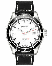 EBERHARD CHAMPION V TIME & DATE AUTOMATIC MEN'S WATCH 41031.1L, MSRP: $2,650