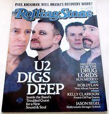 Rolling Stone Magazine March 19 2009 U2 Bob Dylan Leonard Cohen NM Condition