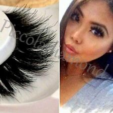 100% Mink Eyelashes 3D Wispie Lash Layered Lilly False Fake Wispy Lashes Mykonos