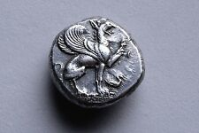 Ancient Greek Silver Griffin Stater Coin from Teos - 440 BC