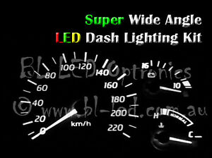 White LED Dash Cluster Light Kit Fits Hyundai Excel & Accent X1 X2