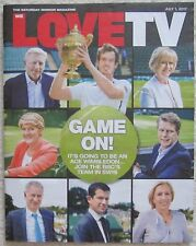 Wimbledon Coverage - We Love TV – 1 July 2017