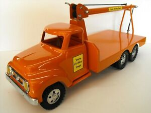 1950's Tonka State Hi-Way Dept Custom Built Tandem Axle Boom Truck