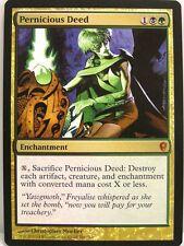 Magic Conspiracy - 1x Pernicious Deed-Mythic