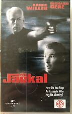 THE JACKAL - BRUCE WILLIS - RICHARD GERE - VHS