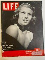 Life Magazine November 10, 1947 Rita Hayworth Monte Carlo Methodists