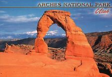 Arches National Park, Utah, Delicate Arch, Red Rock Formation, UT --- Postcard