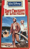 VHS Davy Crockett and the River Pirates (Walt Disney) Abenteuer mit Fess Parker