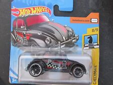 HOT WHEELS 2018 262/365 VOLKSWAGEN BEETLE NEW ON CARD PAWN CHECKMATE