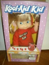 "NEW Vintage 1988 Kool-Aid Kid 9"" Soft Doll w/ Original Outfit Goldberger shorts"