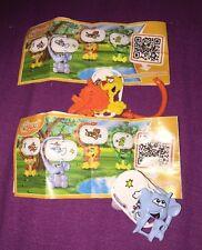 KINDER Surprise MIXART LION Flick e Elefante Flick Toys