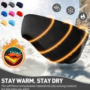 Fleece Winter Headband Ear Warmers Muffs for Men Women Kid Running Skiing Outdoo