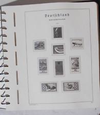 Leeres Vordruckalbum Bund 1976 bis 1990 Leuchtturm