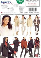 Burda Style Schnittmuster - Jacke für Nähanfänger - Nr.7700