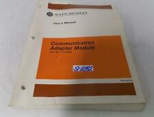 Allen Bradley Communication Adapter Module Users Manual