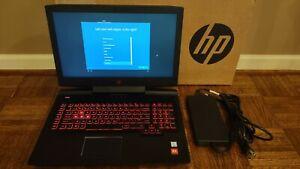 "HP Omen 17-AN012DX 17.3"" 1TB Intel Core i7 2.80GHz 12GB Laptop - Black"