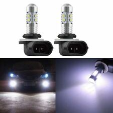2Pcs Fog Light 50W CREE LED Replacement Bulb 881 896 For Volvo VNL VN 2003-2015