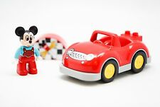 LEGO DUPLO Disney's Mickey Mouse Lego Ville Red Sports Car Workshop Setting