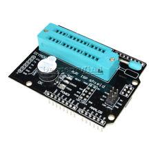 New AVR ISP Shield Burning Burn Bootloader Programmer for Arduino UNO R3