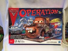 1089) Operation Disney Cars Edition Game 2011 - Ex Cond!  100% Complete!