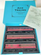 More details for o gauge - ace trains  b.r. c1 passenger coach set - boxed with paperwork