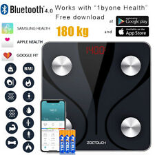 Bluetooth Body Fat Scales Smart Digital Scale Bathroom BMI Body Weight Fitness