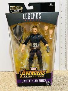Marvel Legends Figure - Captain America Infinity War No Thanos BAF Part Avengers