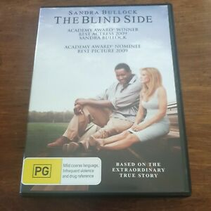 The Blind Side DVD R4 Like New! FREE POST