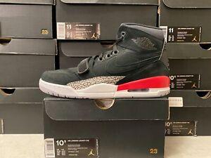 Nike Air Jordan Legacy 312 BLACK FIRE RED WHITE CEMENT GREY 3 AV3922-060