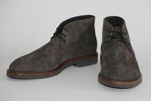 HUGO BOSS DESERT BOOTS, Mod. Eden_Desb_sdg, Gr. 42 / UK 8 / US 9, Dark Grey