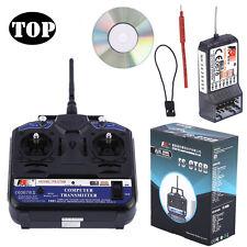 Flysky FS-T6 -RB6 FS Hand-Fernsteuerung 2.4 GHz 6 Kanäle RC Sender mit Empfänger